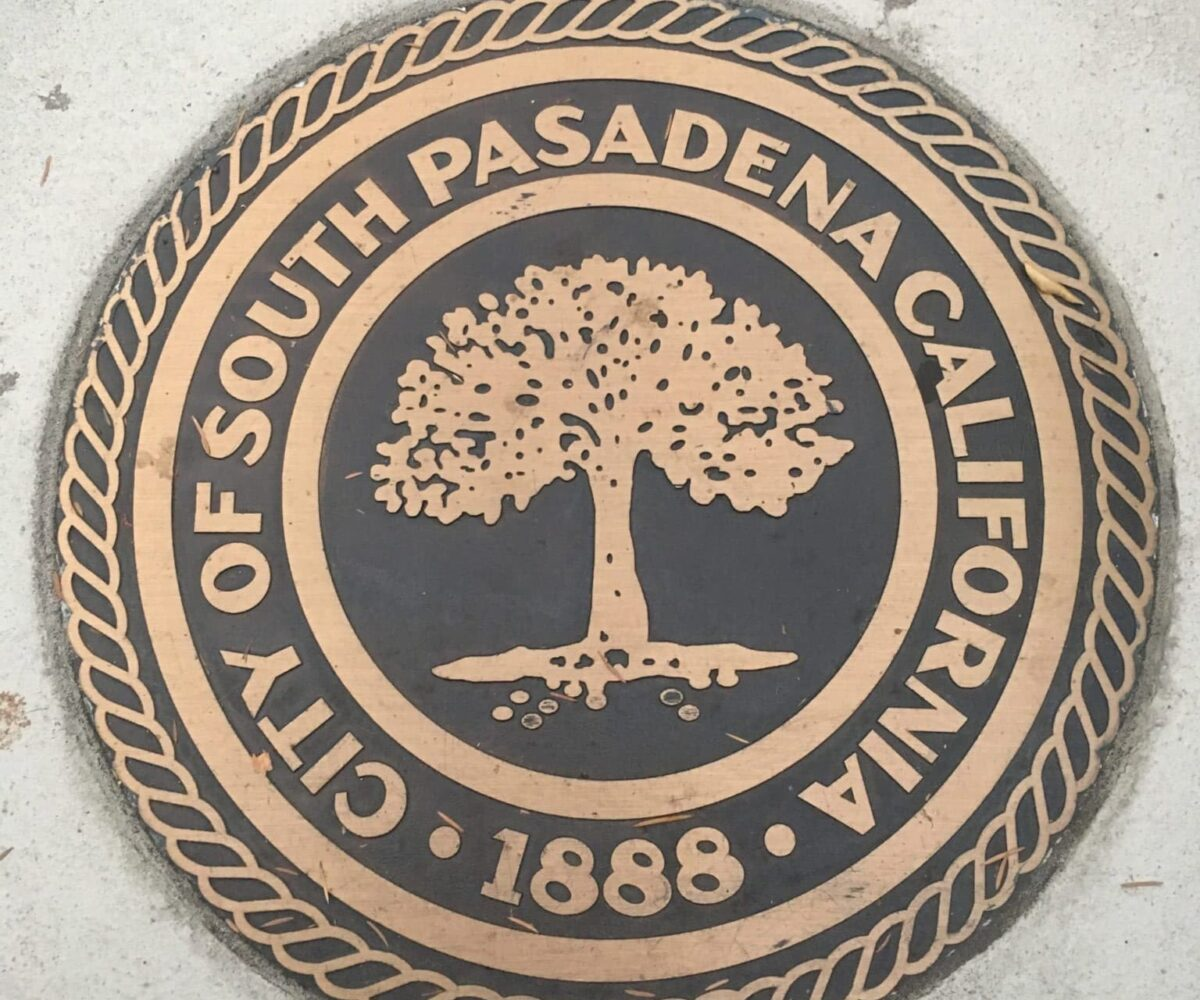 South Pasadena City Seal