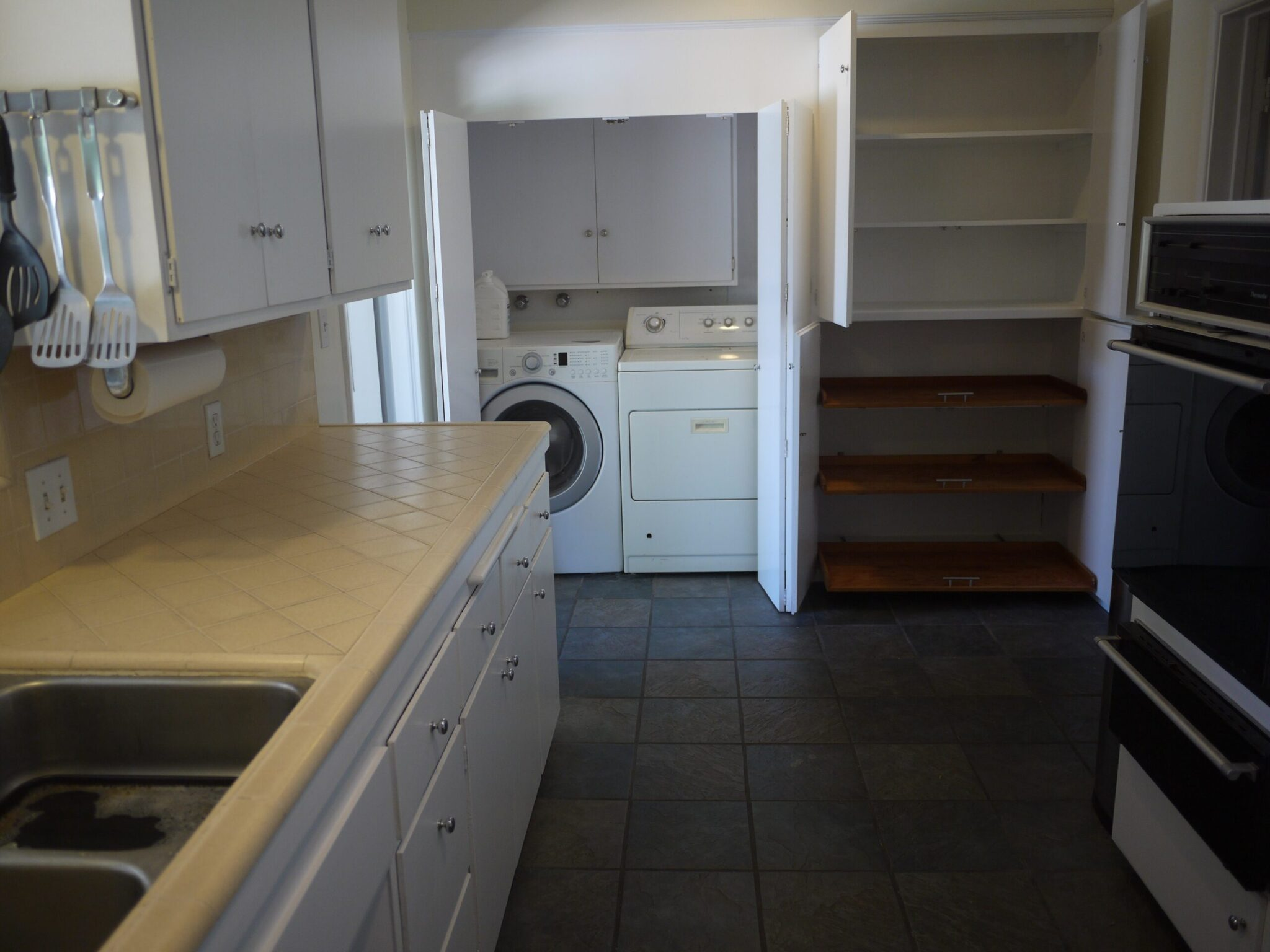 Kitchen and Washer / Dryer Area